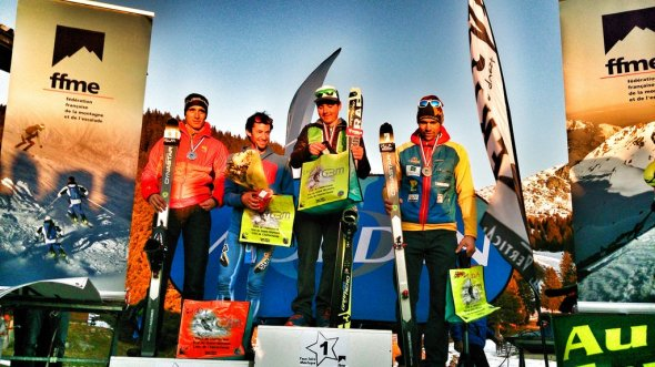 podium-verticalrace-pipay-championnatfrance-kilian-jornet-matheo-jacquemoud