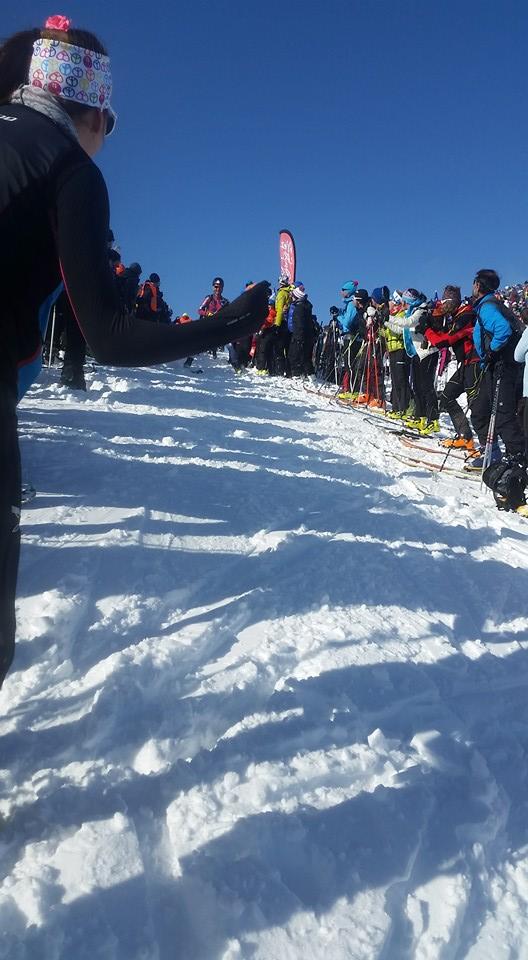 Jacquemoud et Anouk Grand mont Pierra Menta